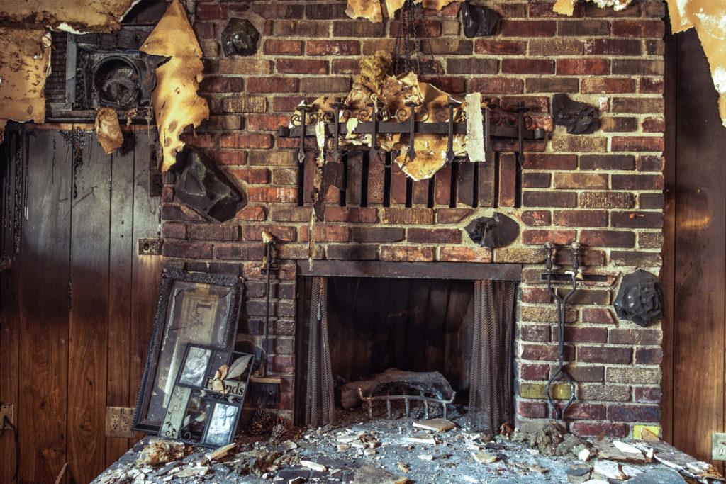 Smoke Damaged Home